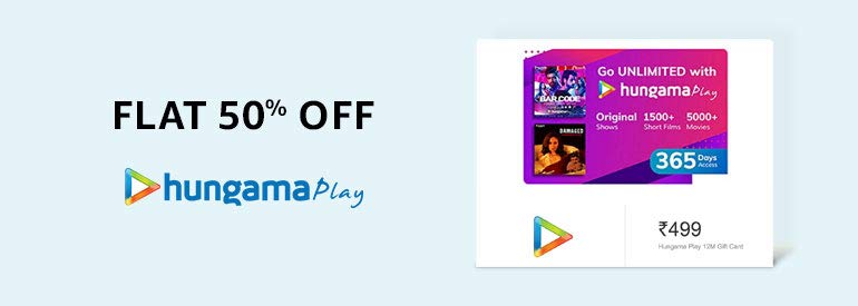 Hungama Gift cards