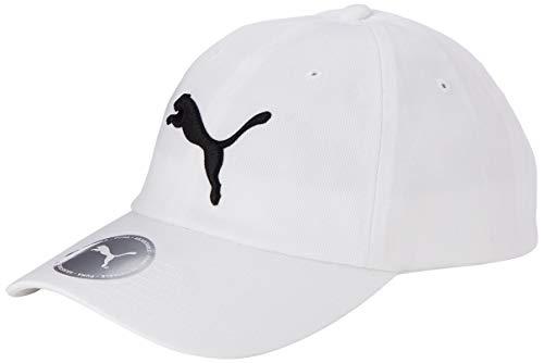 Puma Men's Baseball Cap (5291902_White-Bright Cat_Adult) Price & Reviews