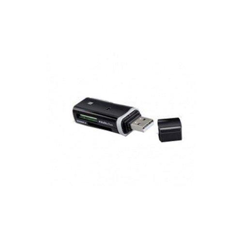 iBall 48 in 1  CR 222  Black Card Reader External Memory Card Readers
