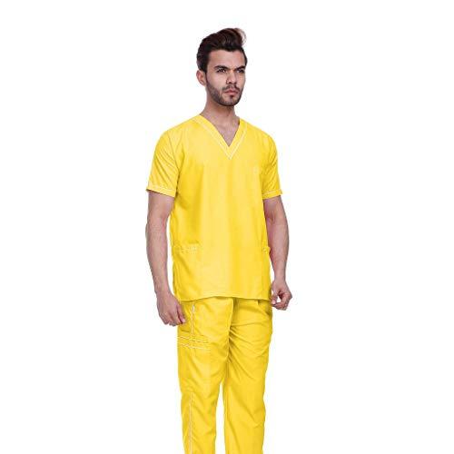 Gadgets Appliances Unisex Scrub V-Neck 3 Pocket Top and Cargo Suit Trouser - Set of 1
