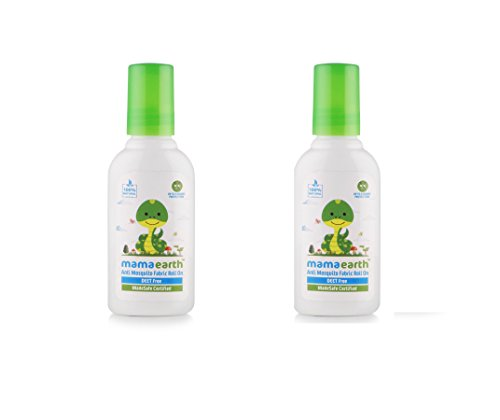 Mamaearth Anti Mosquito Fabric Roll On 8ml. DEET Free. Protects from Dengue, Malaria & Chikungunya (Pack of 2)