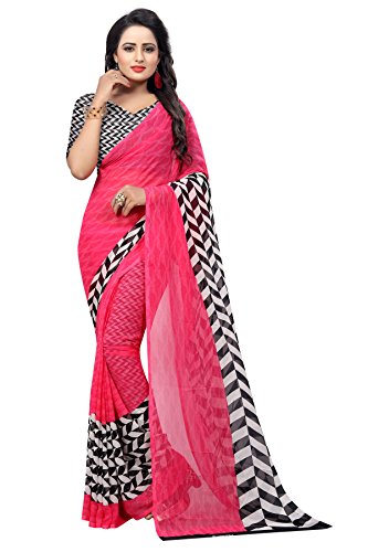 Kanchan Women's Venkatagiri Crepe Saree With Blouse Piece