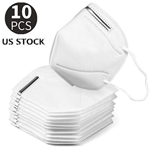 Generic K-N95 Disposable Face Mask with Respirator for Men & Woman Regular Use Outdoor Ttravel (10 PCS)