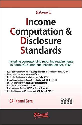 Income Computation Disclosure Standards