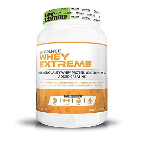 Advance Nutratech Whey Protein Extreme Powder (1Kg, Chocolate)