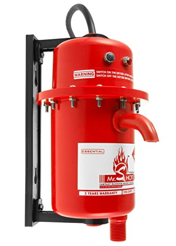 Mr.Shot Instant Running Water Heater, Made Of First Class Abs Plastic, Auto Reset