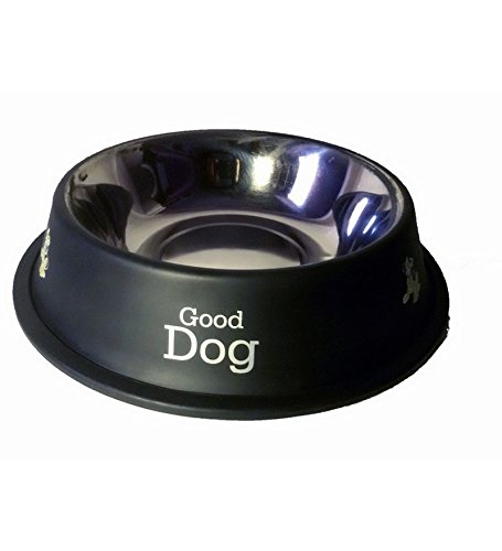 PET CLUB51 Stainless Steel Dog Food Bowl