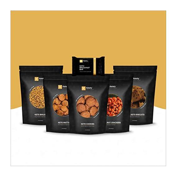Ketofy - Mini Keto Snack Pack | 6 Ultra Low Carb Snacks