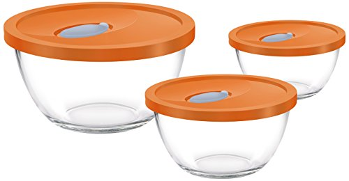 Treo Mixing Bowl Set with Lid, 3Pcs (1.5 LTR, 1 LTR, 0.5 LTR) Price & Reviews