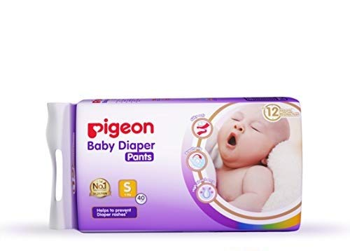 Pigeon Ultra Premium Small Size Pants Diaper, 40 Pieces