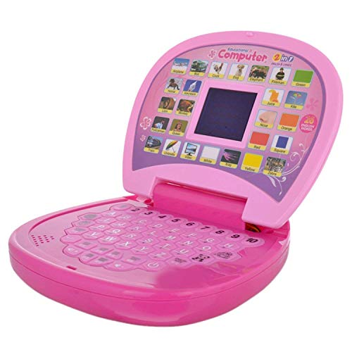 BabyBaba Educational Learning Laptop with LED Display for Kids