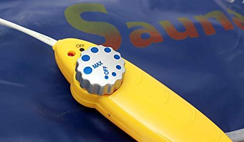 Gadgets Appliances Sauna Slim Belt for Weight Loss Men and Women -Blue
