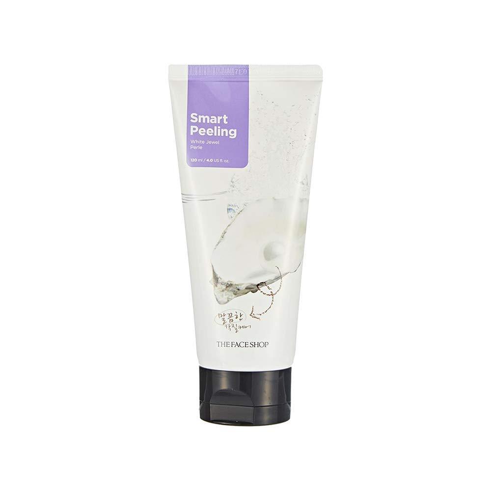 The Face Shop Smart Peeling White Jewel Gentle Exfoliator Face