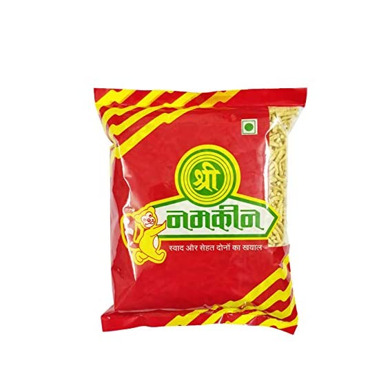 Shree Namkeen Ratlami Sev - Indore's Famous, Crispy & Crunchy, Medium Spicy - 400gm.