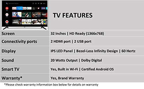 Sanyo 32 inch HD TV Android LED TV