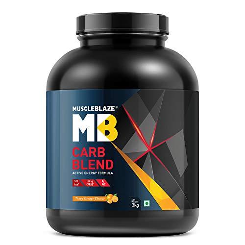 MuscleBlaze Carb Blend, 3 kg / 6.6 lb Orange