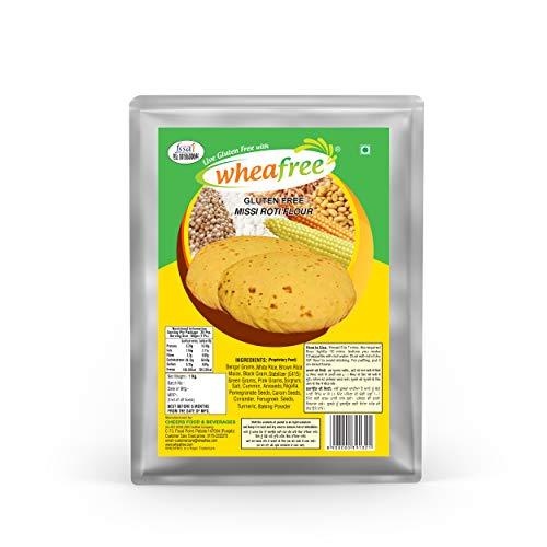 Wheafree Gluten Free Missi Roti Atta 1 kg (Certified Gluten Free)