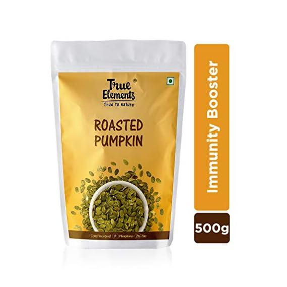 True Elements Roasted Pumpkin Seeds 500g