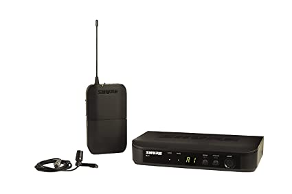 Shure BLX14/CVL Wireless System with CVL Lapel Lavalier Microphone Microphones