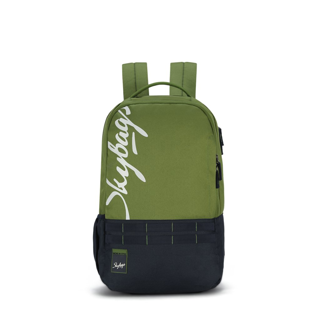 [Apply coupon] Skybags Xcide 02 47 cms Olive Casual Backpack (Xcide 02)