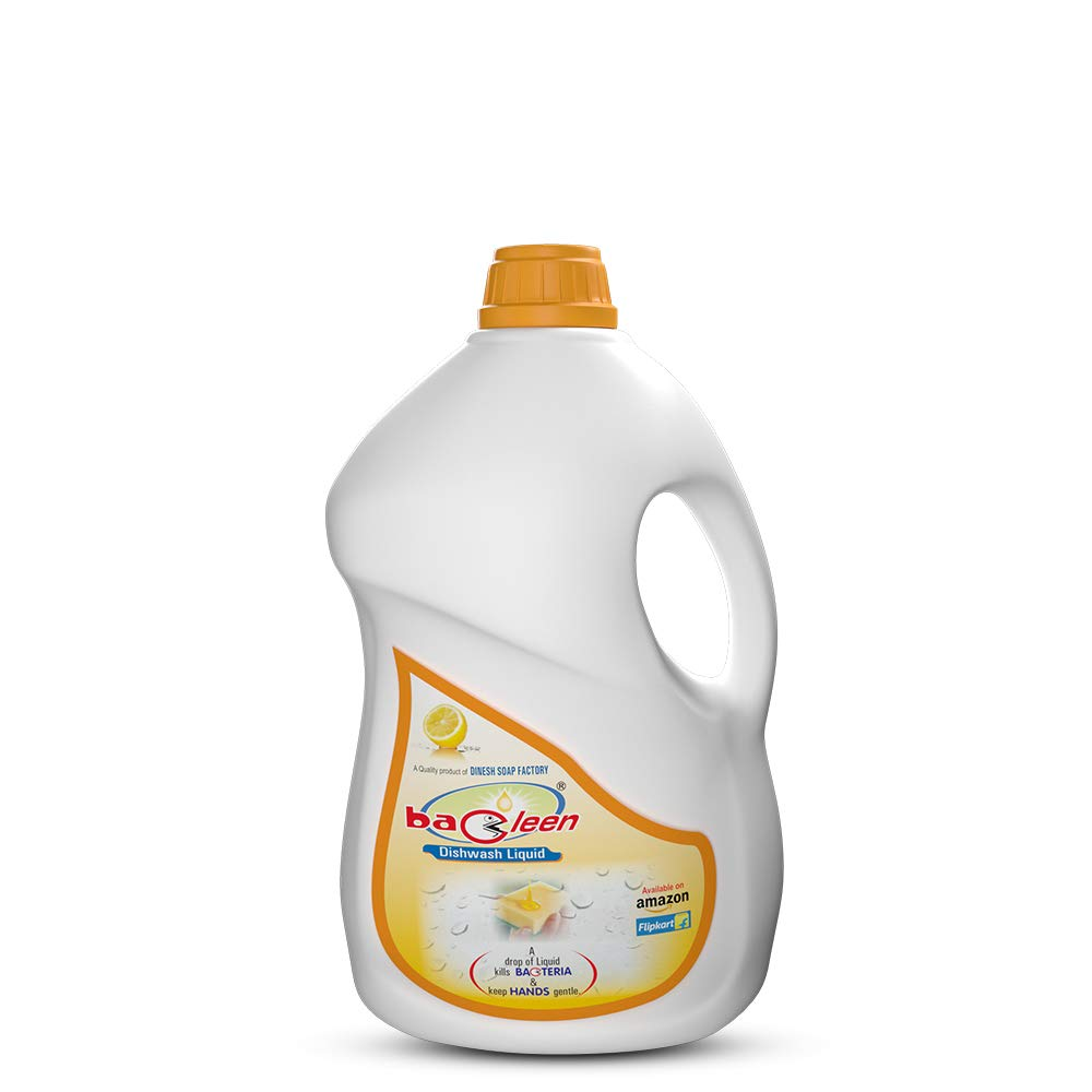 Bacleen Dishwasher Liquid | Dish cleaning gel 2L | Dish washer detergent,2L