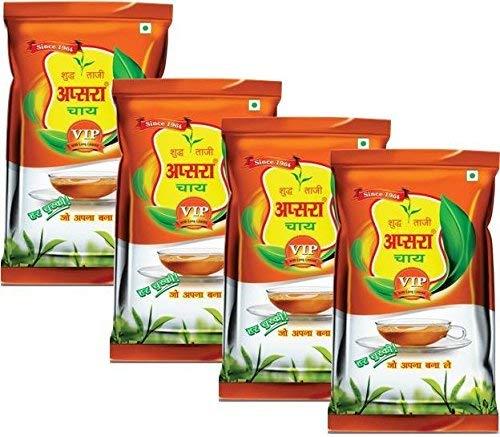 Apsara VIP Black Tea, 250g (Pack of 4)