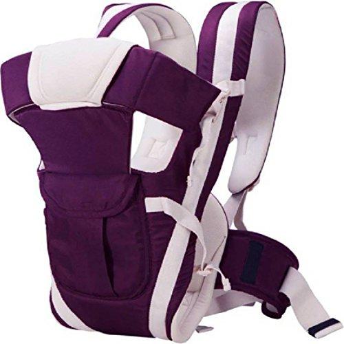 NCY 4 in 1 Carrier Bag Baby Carrier (Purple)