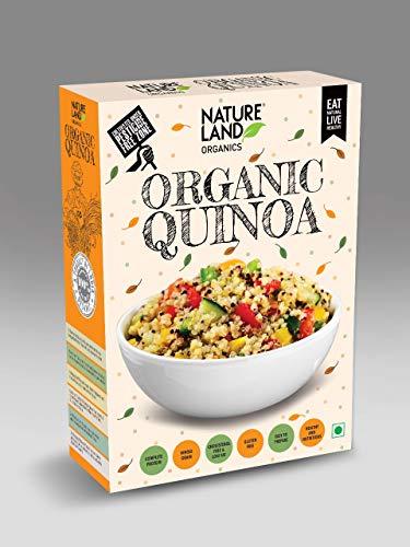 Natureland Organics Quinoa 500 Gm – Gluten Free Organic Quinoa Seeds