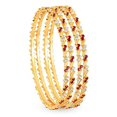 Sukkhi Copper Bangle Set for Women (Golden)(1124VB900-AMZ_2.6.)