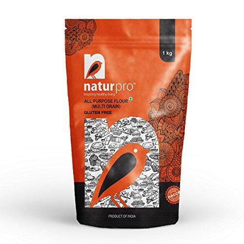 Natur Pro Gluten Free All Purpose Flour Multi Grain Pouch, 3 X 1 kg