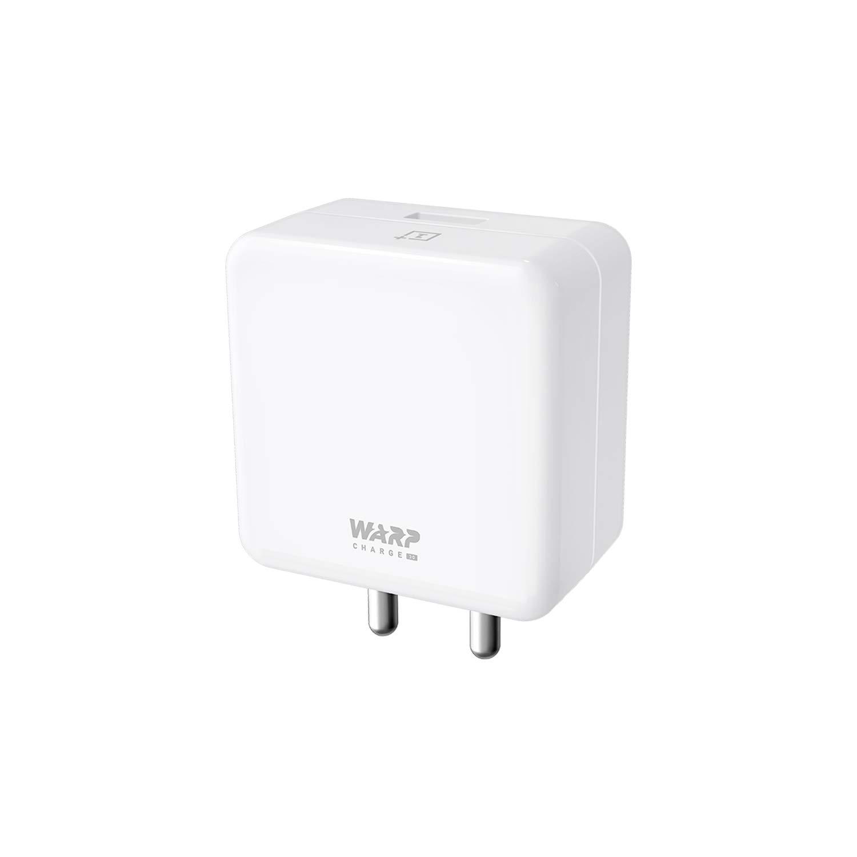 OnePlus Warp Charge 30 Power Adapter (White)