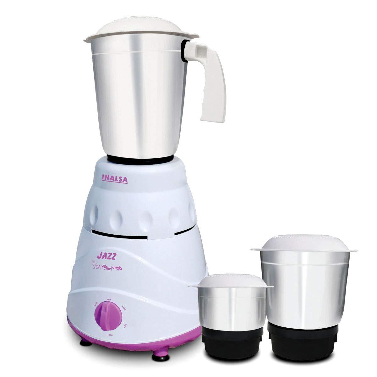 Inalsa Jazz 550-Watt Mixer Grinder