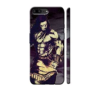 Clapcart One Plus 5 Designer Printed Back Cover for One Plus 5 / Oneplus 5  Multicolor  Lord Shiva  Mobile Accessories