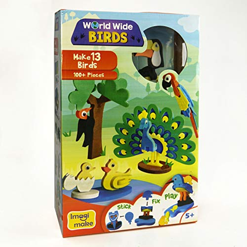 Worldwide Birds Educational Toy and 3D Puzzle for 5 Year ...