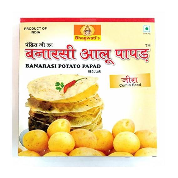 Banarasi Aloo Papad, (JEERA/CUMIN SEED), 250gms