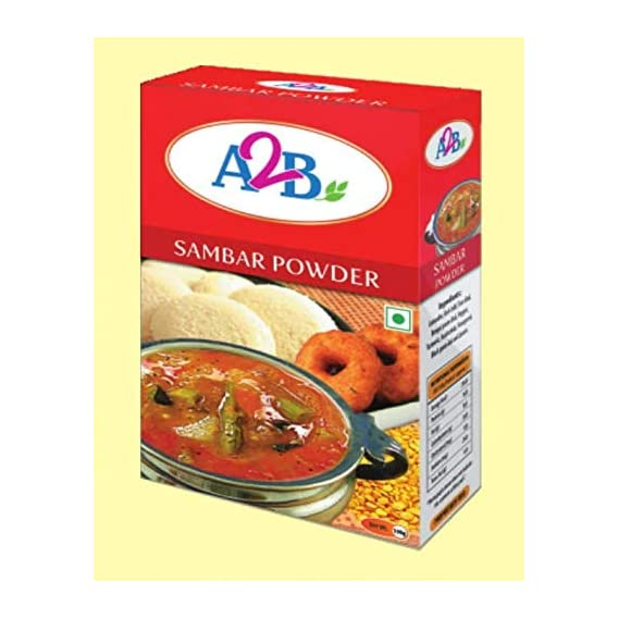 Adyar Anand Bhavan Sweets and Snacks A2B South Indian Special Sambar Powder (500 g)