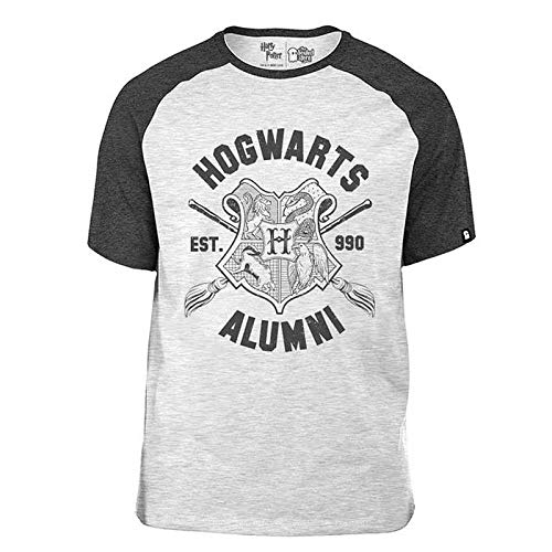 The Souled Store Harry Potter: Hogwarts Alumni Unisex Cotton Graphic T-Shirt
