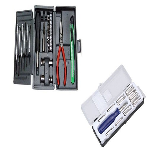 Unique Gadget Buy Mini Hobby Tool Kit with Free Jackly 16 in 1 Screwdriver Tool Kit - MHBY16PT