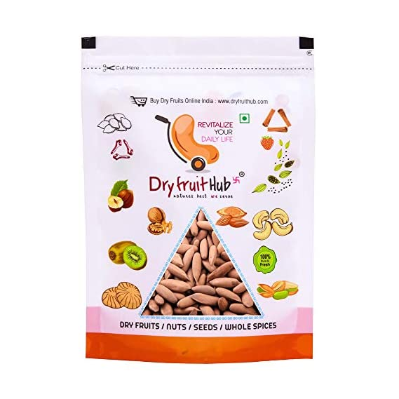 Dry Fruit Hub Pine Nuts with Shell 100gms Chilgoza Dry Fruit, Chilgoza Pine Nuts