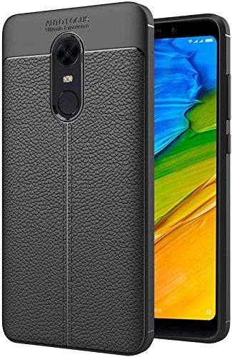 Xiaomi Redmi Note 5 Back Cover Black colour Mobile Accessories