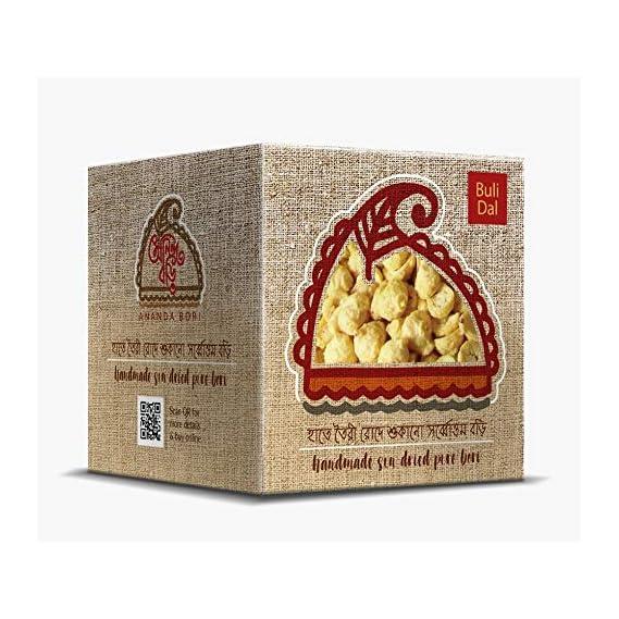Ananda Bori Handmade & Sundried Buli/Urad Dal Bori 120g (Pack of 3) - 360g
