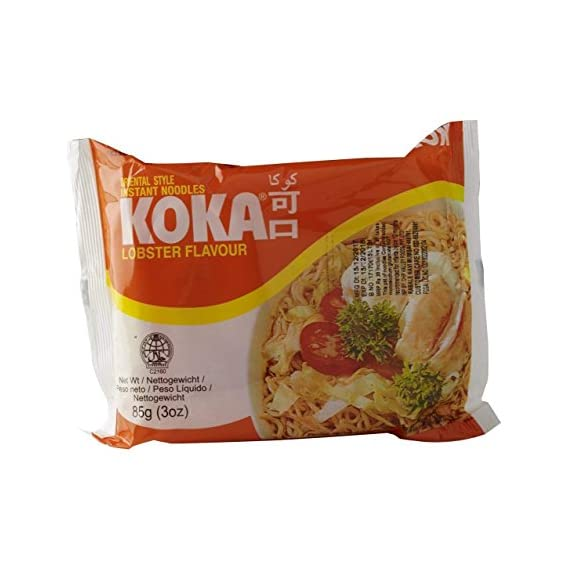 KOKA Oriental Instant Lobster Flavour Noodles - Pack of 9