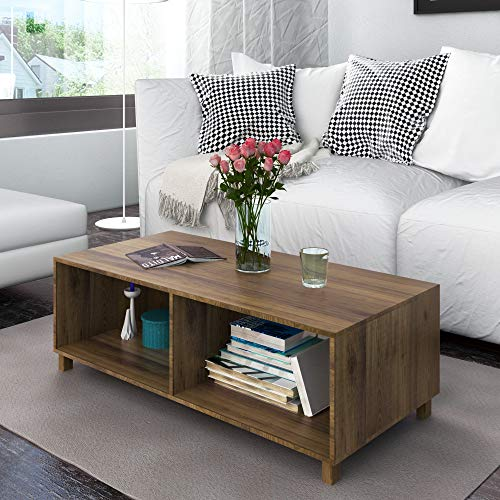 @home by Nilkamal Astero Center Table, Walnut