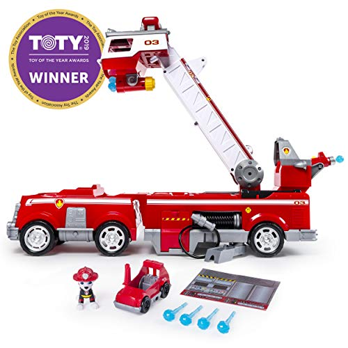 Paw Patrol – Ultimate Rescue Fire Truck with Extendable 2 ft. Tall Ladder, for Ages 3 and Up