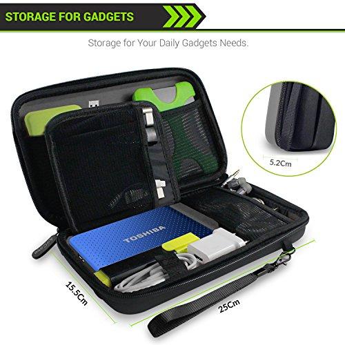 Aircase AP-GDO-109 Gadget Travel Organizer Bag (Gry)