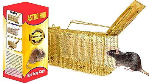 ASTRO HUB Rat traps Cage, rat traps cage rat catcher , home, rat trap cage, Rodent, Mouse Trap , rat Catcher Iron Big Size , rat trapers , rat catcher , Ultimate Solution to All Rat Problems , mouse cage trap