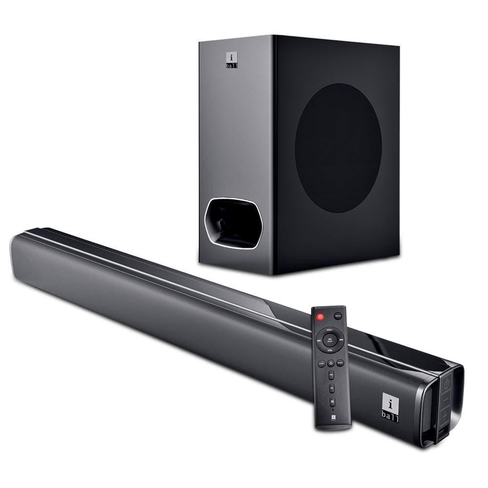 iBall Cinebar 200DD - 120 Watts Dolby Digital Bluetooth Soundbar with Subwoofer