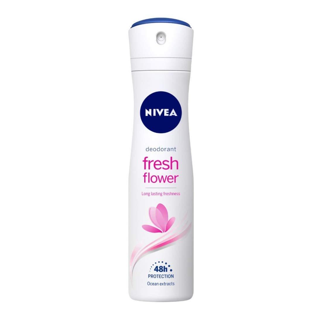 [Apply coupon] NIVEA Deodorant, Fresh Flower, Women, 150ml