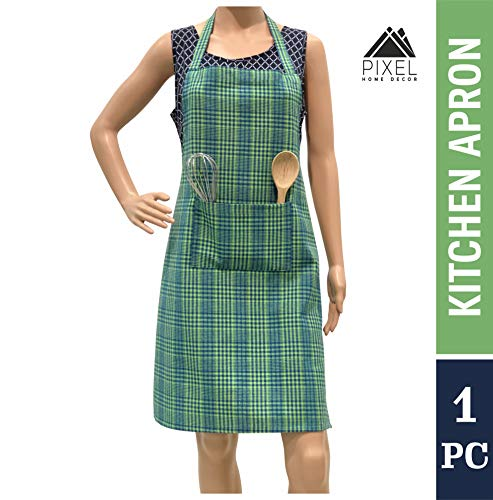 PIXEL HOME Cotton Apron with Front Center Pocket with Ends Price & Reviews