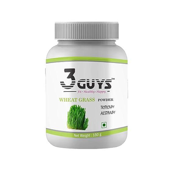3 Guys Wheatgrass Powder, 150 Grams